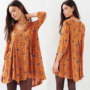 Urban Outfitters Ec Ls Willow Frock Dress